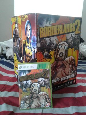 Borderlands 2 w/ collectable box for Sale in Whitehall, OH
