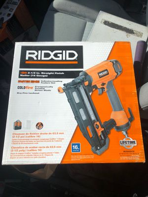"Rigid 2-1/2"" 18Ga Finish nail Brad Gun for Sale in Webster, MA"