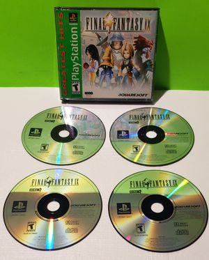 Playstation 1 PS1 PSX Final Fantasy IX for Sale in Denver, PA