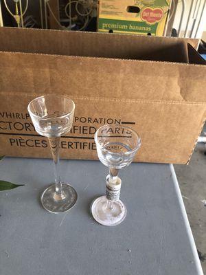 Tea light glass holders tall & short 20 of them for Sale in Modesto, CA