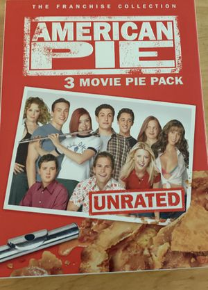 American Pie DVD collection unrated for Sale in Ontario, CA