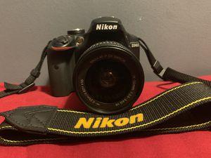 Nikon D3400 With Lense/ Bag / Charger for Sale in Elizabeth, NJ