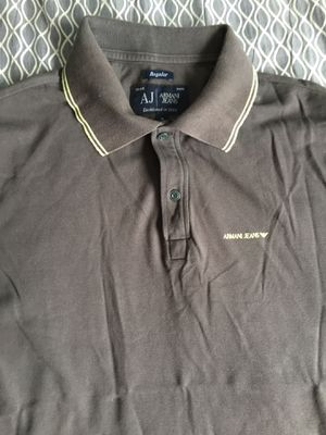 Mens Grey Armani Jeans Polo Shirt for Sale in San Diego, CA
