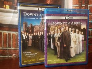 Downtown Abbey Masterpiece Classic First & Second Season Blu-ray Season 1 2 for Sale in Lutz, FL