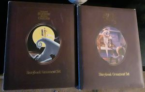 Nightmare Before Christmas Story Book Ordament Sets for Sale in Las Vegas, NV