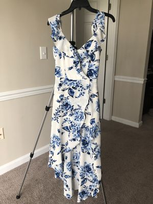 I.N. San Francisco Dress - white and blue floral for Sale in Ashburn, VA