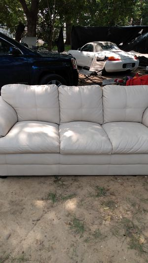 Couch bone leather for Sale in Houston, TX