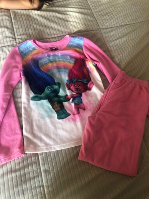Trolls pajamas for Sale in Jamul, CA
