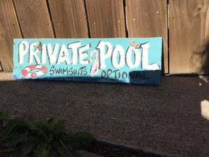 Pool sign for Sale in Carrollton, TX