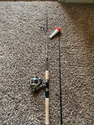 Fishing rod and reel for Sale in Denton, TX