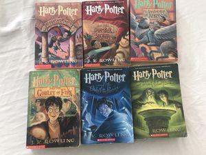 Harry Potter Books 1-6 Paperback for Sale in Elk Grove, CA