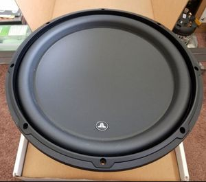 Jl Audio W3V3 13.5 subwoofer. BRAND NEW for Sale in Bloomington, CA