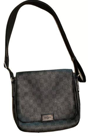 Louis Vuitton Daniel graphite canvas leather messenger bag for Sale in Orland Park, IL