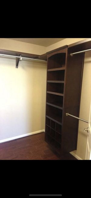 Allen Roth wood closet tower new in box for Sale in Bradenton, FL