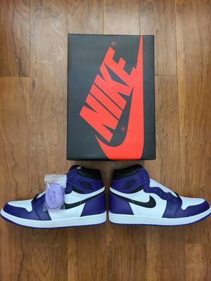Nike Air Jordan 1 Court Purple 2.0 (2020) Size 11 for Sale in Avondale, AZ