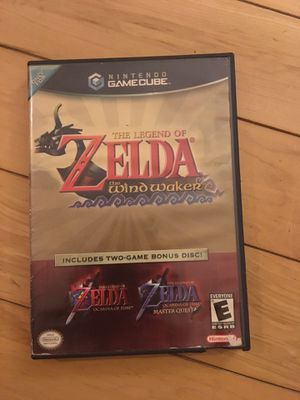 The Legend of Zelda: The Windwaker / The Legend of Zelda: Ocarina Of Time (w/ Master Quest) for Sale in Columbus, OH