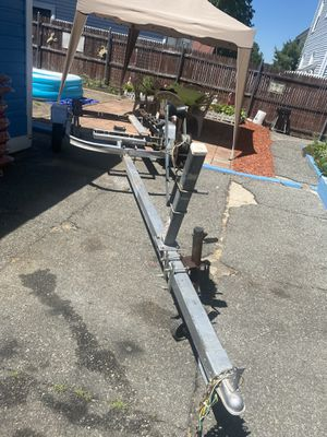 15' Long Bunk Roller Trailer for Sale in Pawtucket, RI