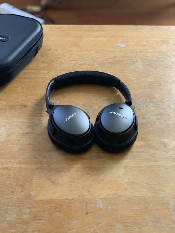 Bose noise cancelling qc 25 headphones (not wireless)