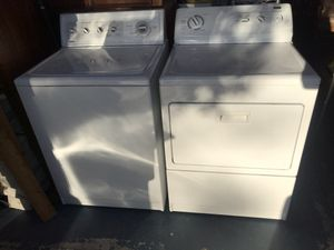 Washer and dryer the dryer electric 220 ⚡️ for Sale in Henderson, NV
