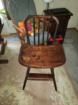Antique high chair for Sale in Webster, MA