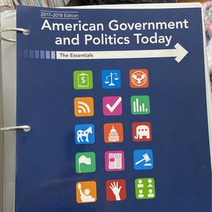 American Government And Politics Today for Sale in Bowie, MD