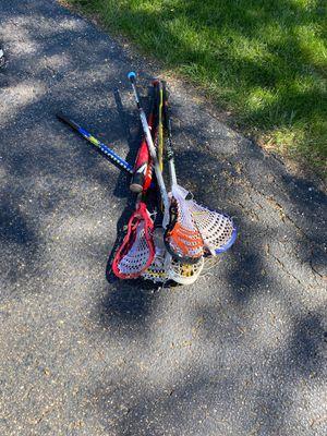 Lacrosse sticks for Sale in Naperville, IL