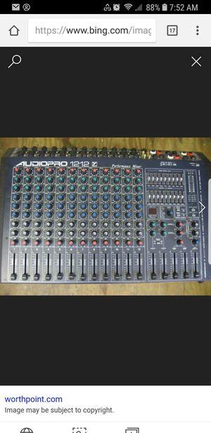 Yorkville audiopro 1212 1200 watt performance mixer for Sale in Windsor, ON