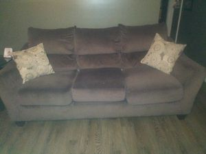 Ashley love seat couch in tables for Sale in Forestdale, AL