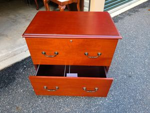 CHERRY LATERAL FILE CABINET for Sale in Bel Air, MD