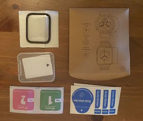 New iwatch tempered glass screen cover for 42mm-44mm for Sale in San Diego, CA