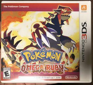 Pokémon Omega Ruby Nintendo 3DS for Sale in Richardson, TX