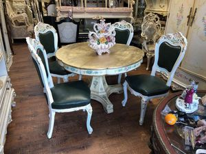 Italian dining kitchen table and chairs. Check my other items for Sale in Los Angeles, CA