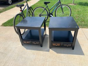 Two end tables for Sale in Columbia, TN