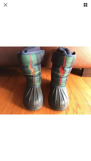 Kids polo boots size 8 for Sale in Fort Washington, MD