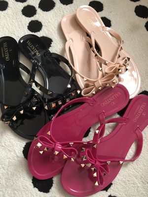 Valentino jelly sandals size 8 for Sale for sale  Brooklyn, NY
