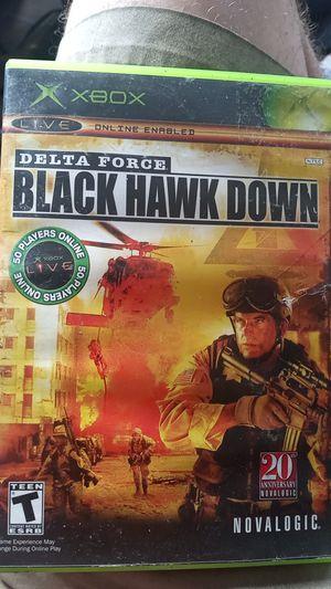 Black Hawk Down (Original Xbox) for Sale in Binghamton, NY