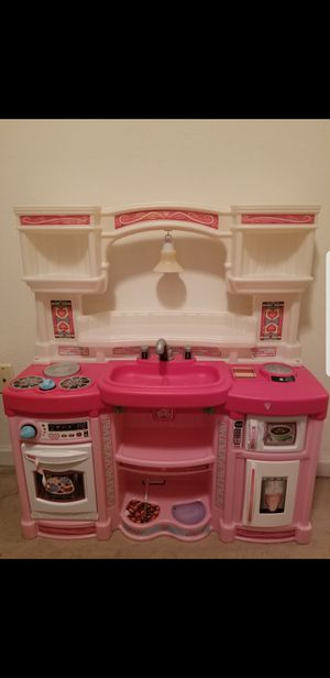Kitchen Play Set Toy Food Cooking Toddler Toys for Sale in Bloomington, IL