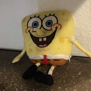 Spongebob Squarepants Plush Toy - 12 Inches Tall for Sale in Medford, OR