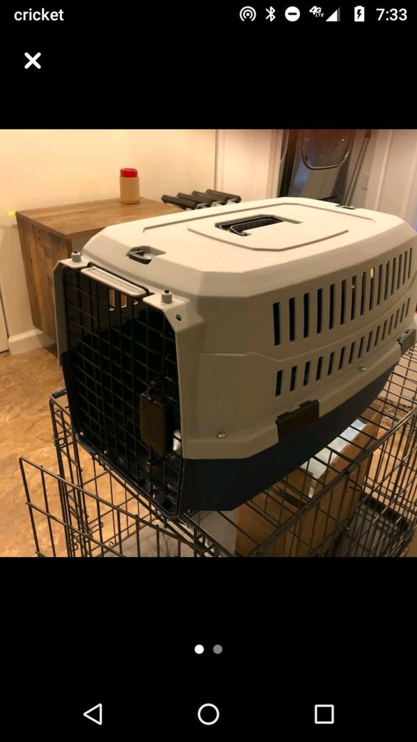 Cat or Small Dog Crate Kennel Carrier