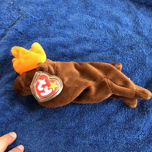 Moose beanie baby with tags for Sale in St. Helens, OR