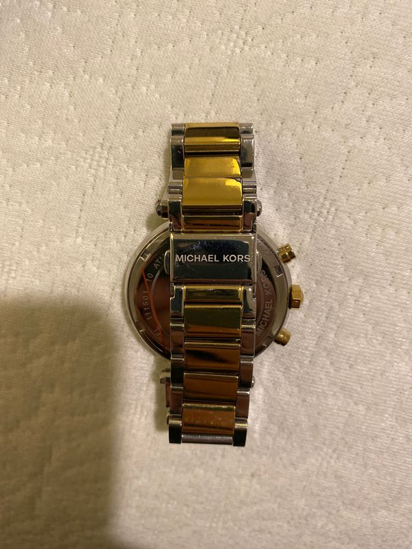 Michael Kors watch - gold and silver
