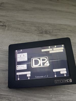 """SmallHD DP4 4.3"""" On-Camera LCD Field Monitor for Sale in Los Angeles, CA"""
