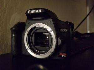 Canon Rebel T1i EOS Digital Camera - Body Only for Sale in Pittsburg, CA