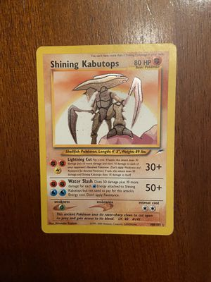 Shining Kabutops for Sale in Raleigh, NC