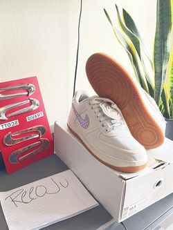 """Travis Scott Air Forces """"Sail"""" Sz10.5 for Sale in Los Angeles,  CA"""