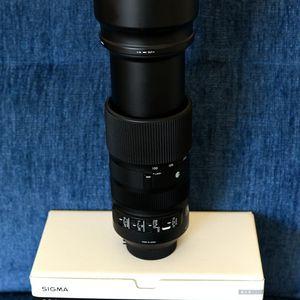 Sigma 100-400 mm F/5-6.3 Zoom Lens for Sale in Yorba Linda, CA