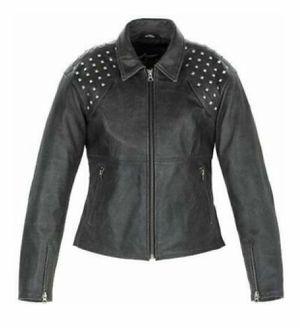 Alpinestars Tokyo Stella Women's Studded Black Leather Motorcycle Jacket for Sale in Falls Church, VA