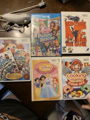 Wii games for Sale in Chula Vista, CA