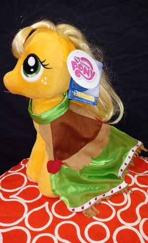 Build a bear New With Tags Full Size 17 in My Little Pony Applejack for Sale in Pompano Beach, FL