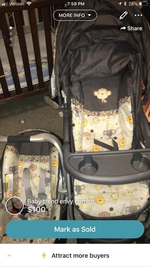 Baby car seat and stroller combo for Sale in Palermo, CA